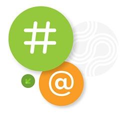 @ Symbols and Hashtags