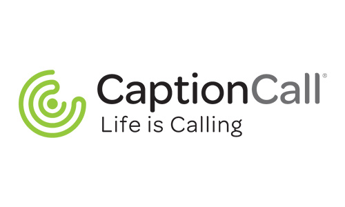 CaptionCall Logo Horizontal Tagline Color
