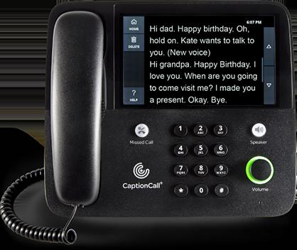 67Tb Captioning Phone